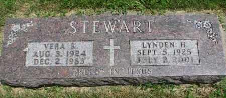 STEWART, LYNDEN H. - Yankton County, South Dakota   LYNDEN H. STEWART - South Dakota Gravestone Photos