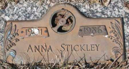 STICKLEY, ANNA - Yankton County, South Dakota   ANNA STICKLEY - South Dakota Gravestone Photos