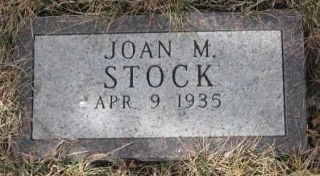 STOCK, JOAN M. - Yankton County, South Dakota | JOAN M. STOCK - South Dakota Gravestone Photos