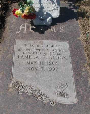 ADAMS STOCK, PAMELA K. - Yankton County, South Dakota | PAMELA K. ADAMS STOCK - South Dakota Gravestone Photos