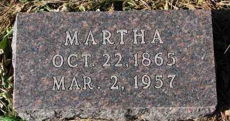 STOEM, MARTHA - Yankton County, South Dakota | MARTHA STOEM - South Dakota Gravestone Photos