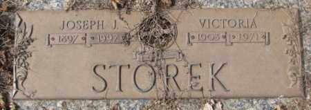 STOREK, JOSEPH J. - Yankton County, South Dakota   JOSEPH J. STOREK - South Dakota Gravestone Photos