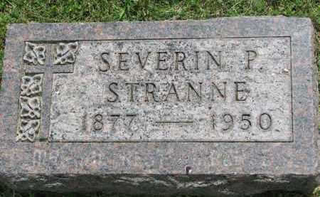 STRANNE, SEVERIN P. - Yankton County, South Dakota | SEVERIN P. STRANNE - South Dakota Gravestone Photos