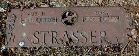 STRASSER, LESLIE - Yankton County, South Dakota | LESLIE STRASSER - South Dakota Gravestone Photos