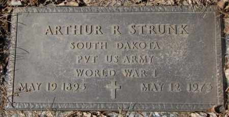 STRUNK, ARTHUR R. (WW I) - Yankton County, South Dakota | ARTHUR R. (WW I) STRUNK - South Dakota Gravestone Photos
