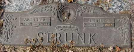 STRUNK, JENNIE C. - Yankton County, South Dakota   JENNIE C. STRUNK - South Dakota Gravestone Photos