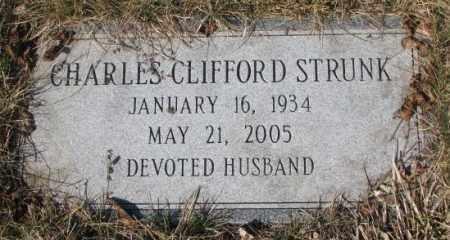 STRUNK, CHARLES CLIFFORD - Yankton County, South Dakota   CHARLES CLIFFORD STRUNK - South Dakota Gravestone Photos