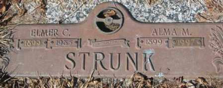 STRUNK, ALMA M. - Yankton County, South Dakota   ALMA M. STRUNK - South Dakota Gravestone Photos