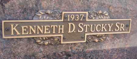 STUCKY, KENNETH D. SR. - Yankton County, South Dakota | KENNETH D. SR. STUCKY - South Dakota Gravestone Photos