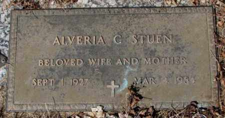 STUEN, ALVERIA G. - Yankton County, South Dakota | ALVERIA G. STUEN - South Dakota Gravestone Photos