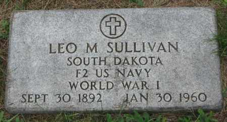 SULLIVAN, LEO M. - Yankton County, South Dakota | LEO M. SULLIVAN - South Dakota Gravestone Photos