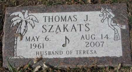 SZAKATS, THOMAS J. - Yankton County, South Dakota | THOMAS J. SZAKATS - South Dakota Gravestone Photos