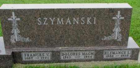 SZYMANSKI, KLEMANCE L. - Yankton County, South Dakota | KLEMANCE L. SZYMANSKI - South Dakota Gravestone Photos