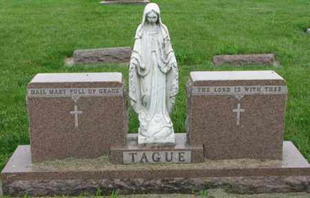 TAGUE, PLOT - Yankton County, South Dakota | PLOT TAGUE - South Dakota Gravestone Photos