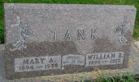 TANK, WILLIAM R. - Yankton County, South Dakota | WILLIAM R. TANK - South Dakota Gravestone Photos