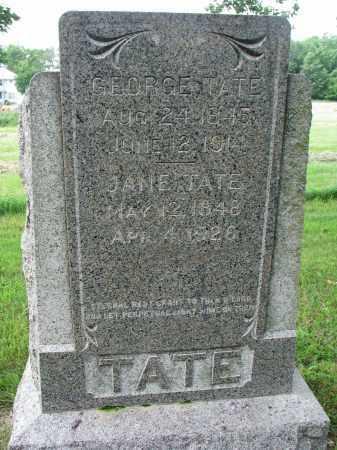 TATE, GEORGE - Yankton County, South Dakota | GEORGE TATE - South Dakota Gravestone Photos