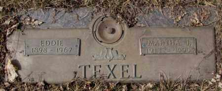 TEXEL, EDDIE - Yankton County, South Dakota | EDDIE TEXEL - South Dakota Gravestone Photos