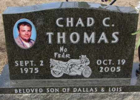 THOMAS, CHAD C. - Yankton County, South Dakota | CHAD C. THOMAS - South Dakota Gravestone Photos