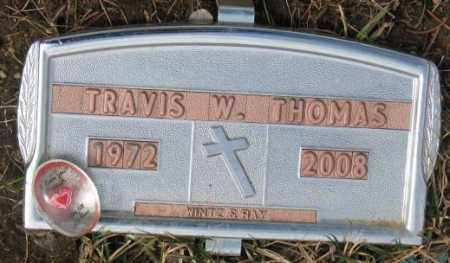 THOMAS, TRAVIS W. - Yankton County, South Dakota | TRAVIS W. THOMAS - South Dakota Gravestone Photos