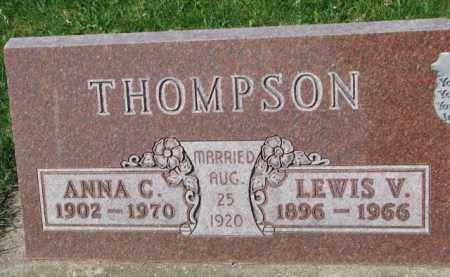 THOMPSON, LEWIS V. - Yankton County, South Dakota | LEWIS V. THOMPSON - South Dakota Gravestone Photos