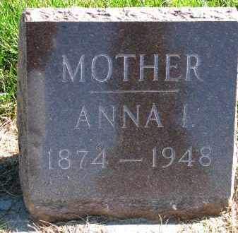 THOMPSON, ANNA I. - Yankton County, South Dakota | ANNA I. THOMPSON - South Dakota Gravestone Photos
