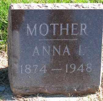 THOMPSON, ANNA I. - Yankton County, South Dakota   ANNA I. THOMPSON - South Dakota Gravestone Photos