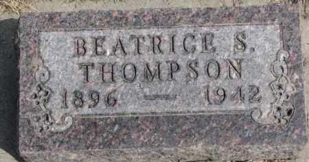 THOMPSON, BEATRICE S. - Yankton County, South Dakota | BEATRICE S. THOMPSON - South Dakota Gravestone Photos