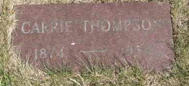 THOMPSON, CARRIE - Yankton County, South Dakota | CARRIE THOMPSON - South Dakota Gravestone Photos