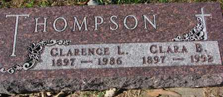 THOMPSON, CLARENCE L. - Yankton County, South Dakota | CLARENCE L. THOMPSON - South Dakota Gravestone Photos