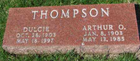 THOMPSON, ARTHUR O. - Yankton County, South Dakota | ARTHUR O. THOMPSON - South Dakota Gravestone Photos