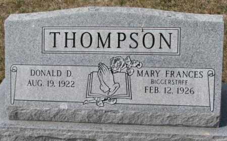 THOMPSON, MARY FRANCES - Yankton County, South Dakota | MARY FRANCES THOMPSON - South Dakota Gravestone Photos