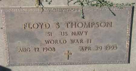 THOMPSON, FLOYD S. (WW II) - Yankton County, South Dakota | FLOYD S. (WW II) THOMPSON - South Dakota Gravestone Photos