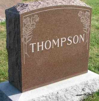 THOMPSON, FAMILY STONE - Yankton County, South Dakota | FAMILY STONE THOMPSON - South Dakota Gravestone Photos