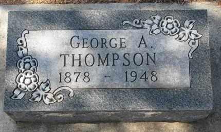 THOMPSON, GEORGE A. - Yankton County, South Dakota   GEORGE A. THOMPSON - South Dakota Gravestone Photos