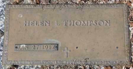 THOMPSON, HELEN L. - Yankton County, South Dakota | HELEN L. THOMPSON - South Dakota Gravestone Photos