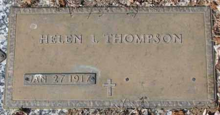 THOMPSON, HELEN L. - Yankton County, South Dakota | HELEN L. THOMPSON - South Dakota Gravestone Photos
