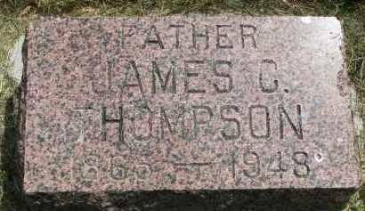 THOMPSON, JAMES C. - Yankton County, South Dakota | JAMES C. THOMPSON - South Dakota Gravestone Photos