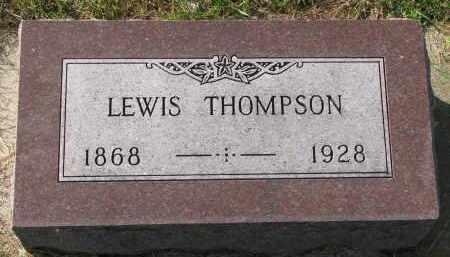THOMPSON, LEWIS - Yankton County, South Dakota   LEWIS THOMPSON - South Dakota Gravestone Photos