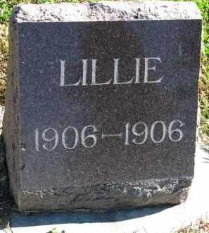 THOMPSON, LILLIE - Yankton County, South Dakota   LILLIE THOMPSON - South Dakota Gravestone Photos