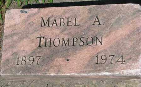 THOMPSON, MABEL A. - Yankton County, South Dakota | MABEL A. THOMPSON - South Dakota Gravestone Photos