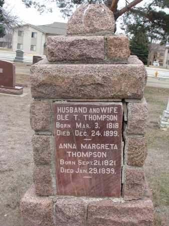 THOMPSON, OLE T. - Yankton County, South Dakota | OLE T. THOMPSON - South Dakota Gravestone Photos