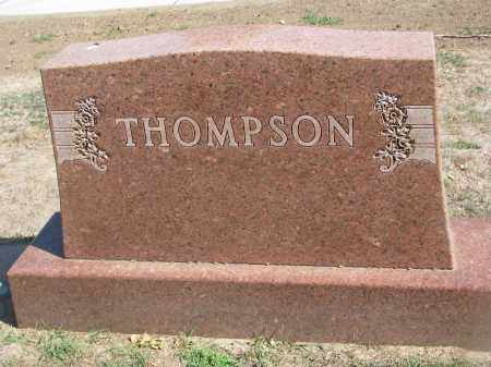 THOMPSON, PLOT STONE - Yankton County, South Dakota | PLOT STONE THOMPSON - South Dakota Gravestone Photos