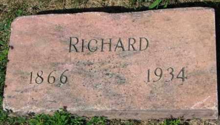 THOMPSON, RICHARD - Yankton County, South Dakota | RICHARD THOMPSON - South Dakota Gravestone Photos