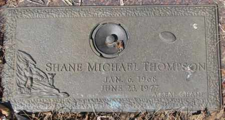 THOMPSON, SHANE MICHAEL - Yankton County, South Dakota   SHANE MICHAEL THOMPSON - South Dakota Gravestone Photos