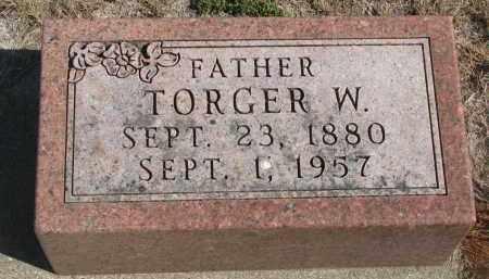 THOMPSON, TORGER W. - Yankton County, South Dakota | TORGER W. THOMPSON - South Dakota Gravestone Photos