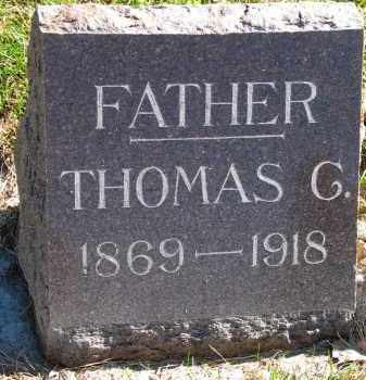 THOMPSON, THOMAS G. - Yankton County, South Dakota | THOMAS G. THOMPSON - South Dakota Gravestone Photos