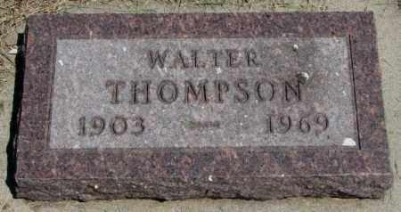 THOMPSON, WALTER - Yankton County, South Dakota   WALTER THOMPSON - South Dakota Gravestone Photos