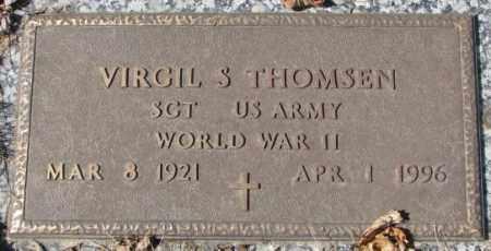 THOMSEN, VIRGIL S. - Yankton County, South Dakota | VIRGIL S. THOMSEN - South Dakota Gravestone Photos