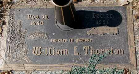 THORNTON, WILLIAM L. - Yankton County, South Dakota | WILLIAM L. THORNTON - South Dakota Gravestone Photos