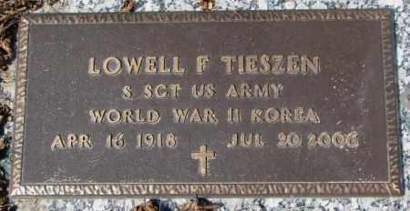 TIESZEN, LOWELL F. - Yankton County, South Dakota | LOWELL F. TIESZEN - South Dakota Gravestone Photos